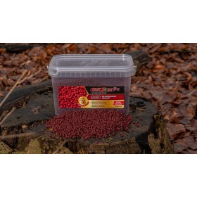 BaitZone Pellet Red Bloodworm - Czerwony Ochotkowy 3L