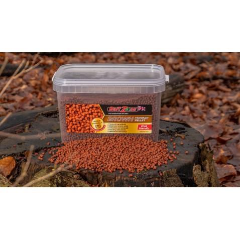 BaitZone Pellet Brown Tigernut - Brązowy Orzech Tygrysi 3L