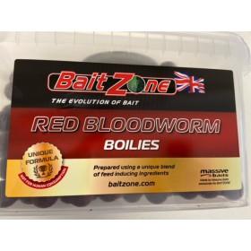 BaitZone Kulki Proteinowe Red Bloodworm 2kg + DIP GRATIS