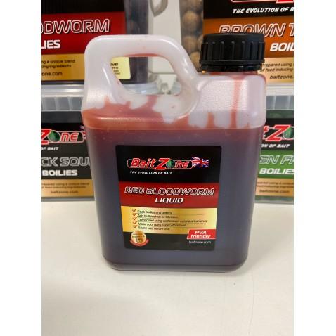 BaitZone Red Bloodworm Liquid 1L