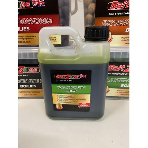 BaitZone Green Fruity Liquid 1L